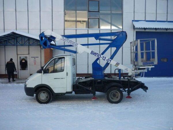 Автовышка ВИПО-12 ГАЗ-3302
