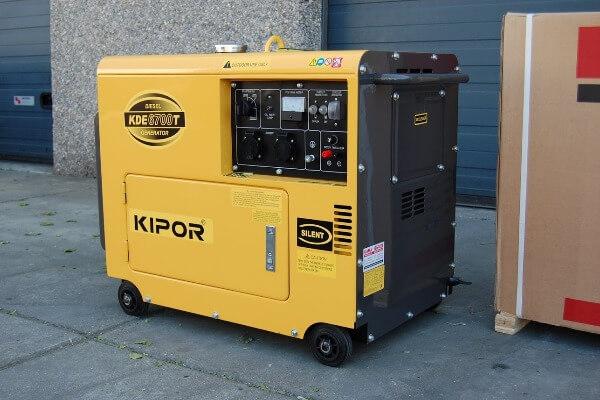 Электростанция KIPOR KDE60SS3