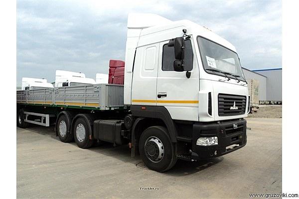 Длинномер МАЗ-6430